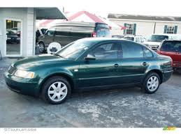 2000 Bright Green Metallic Volkswagen Passat GLS 1.8T Sedan ...