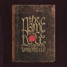 i ve always wanted to design covers for my favourite books to start i chose umberto eco s the name of the rose lettering is inspired by meval black