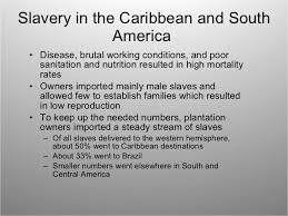 ap world atlantic slave trade slavery in the caribbean and south america
