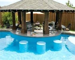 Backyard Designs With Pool And Outdoor Kitchen Classy Swimming Pool Ideas For Backyard Faanyagok