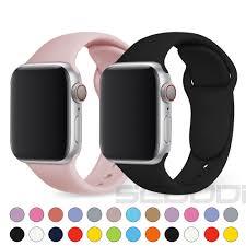 Dây đeo silicon thay thế cho đồng hồ thông minh for Apple Watch 1 / 2 / 3 /  4 / 5 / SE / 6 ,42mm/44mm 38mm/40mm