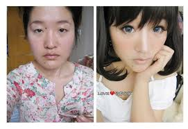 image asian s with and without makeup 9 jpg