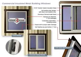 Exterior Window Design Gorgeous Metal Building Accessories