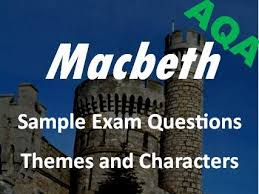 ocr gcse english literature conflict poetry revision and macbeth revision themes and characters sample exam questions aqa gcse new spec revision