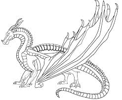 wings of fire nightwing coloring pages station page printable