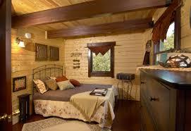 Log Cabin Bedroom Mountain King Residential Log Cabin Kit