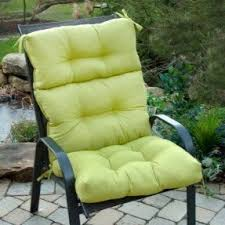 garden seat covers outdoor furniture. greendale home fashions indoor/outdoor high back chair cushion, kiwi garden seat covers outdoor furniture a