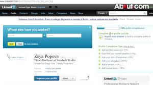 Create Resume From Linkedin Profile Linkedin Resume Tjfs Journal Org