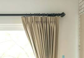 curtains that hang on hooks how hang pinch pleat curtains convert rod pocket 2 g dry