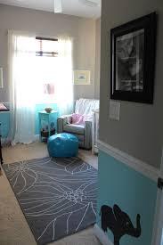 chair rail nursery. Fine Nursery Nursery  Gray Blue And White With Chair Rail Bold Bright Throughout Chair Rail
