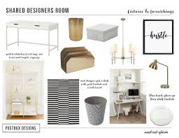 neutral office decor. example of home office decor neutral glam style