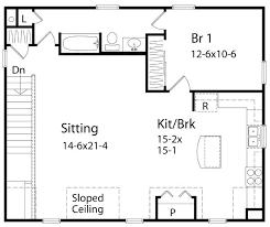 One Bedroom Cottage Plans House Plans 1 Bedroom 1 Bedroom House