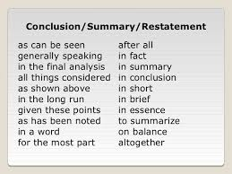 44 another word for conclusion image result for transitional words for conclusion writing tips