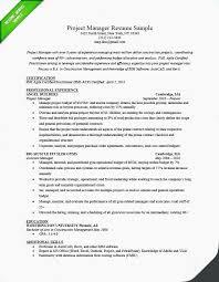 Resume Sample Doc Extraordinary Project Manager Resume Sample Doc Resume Cv Cover Letter Program