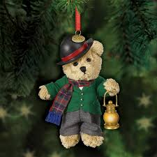 Christmas Quartet - The 2015 Teddy Bear Ornaments - lantern