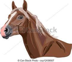 horse head clip art color.  Color Palomino Horse  Csp12436507 In Horse Head Clip Art Color R