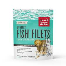 Superb The Honest Kitchen WISHES Whitefish Fillet Dog And Cat Treats