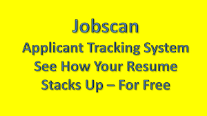 Jobscan Applicant Tracking System Jobscan Ats Youtube