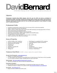 Freelance Graphic Designer Resume New Freelance Resume Sample