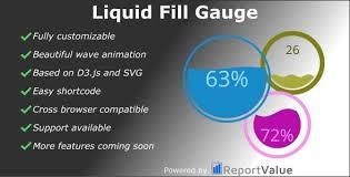 Download Free Liquid Fill Gauge Bar Bar Counter Chart