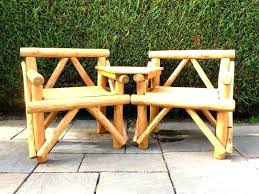 rustic wooden outdoor furniture. Modren Wooden Rustic Wood Outdoor Furniture Wooden Garden Table Bench Seats  Creates A Traditional And Authentic Appeal In  To R