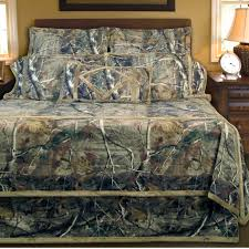 image of realtree camo bed set