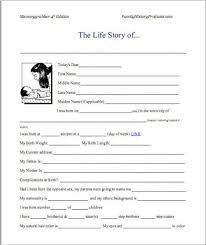 sample autobiography and example of autobiography activities to do basically a book workbook questions prompts and other activities to help you go back into your memory bank and pull out memorable moments that