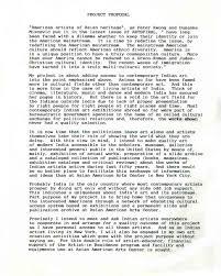 Art Proposal Template Dave Vinod Selected Document Artasiamerica A Digital Archive 8