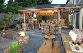home elements and style medium size patio bar designs outdoor stone build an your own