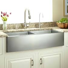 home design stainless steel farmhouse kitchen sink double bowl stainless steel farmhouse sink curved pertaining to stainless steel