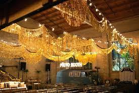 excellent gold fringe ceremony garlands gold metallic foil fringe chandelier