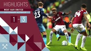 HIGHLIGHTS | WEST HAM UNITED 1-3 TOTTENHAM HOTSPUR - YouTube