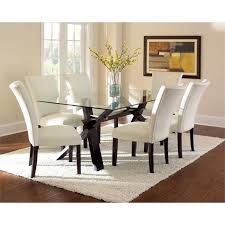 dining tables enchanting glass top dining table sets glass top dining table set 6 chairs