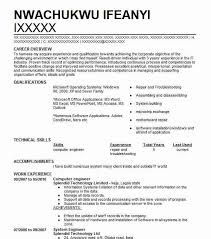Engineering Skills Resume Computer Engineer Resume Sample Technical Resumes Livecareer