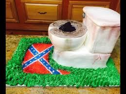 Redneck Toilet Bowl Cake In Buttercream Cake Decorating Youtube