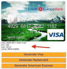 Credit Free Fake Websites Card Generator Numbers