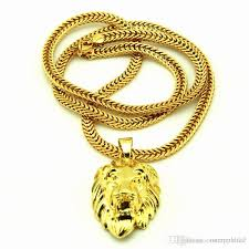 lion head necklace lovely gold plated statement necklace images
