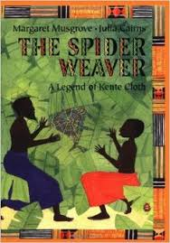 the spider weaver a legend of kente cloth by margaret musgrove and ilrator julia cairns fun book for patterns lines