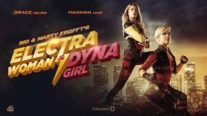 Electric woman and dina girl
