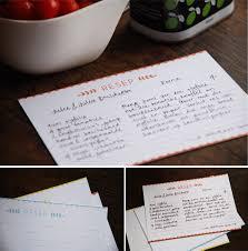 Recipe Cards Freebie Clever Bird Banter