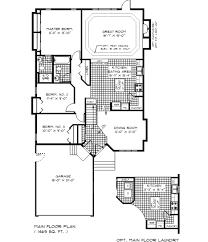 bungalow floor plans. Bungalow Plan Pretentious Inspiration 6 Bungalo Floor Plans Aflfpw75903 2 Story Home Baths Houseplanscom