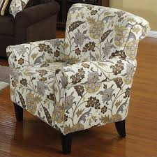Patterned Club Chair