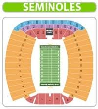 Doak Campbell Seating Chart Rows Doak Campbell Stadium Seating Chart Rows