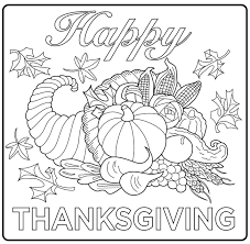 Small Picture Thanksgiving Coloring pages for adults coloring adult