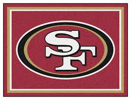 san francisco 49ers 8 x 10 decor area rug san francisco 49ers merchandise