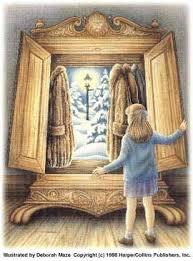 open closet door drawing. Illustration (1998) By Deborah Maze For CSL\u0027s The Lion, Witch And · Closet DoorsNumber Open Door Drawing