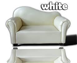 white leather sofa chair bed single kids chair sofa chair