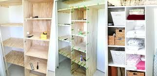 how to build a closet shelf closet shelving how to build shelves for closet shelving