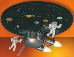 kids room ceiling lighting. space themed ceiling light kids room lighting r