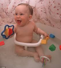 the bath seats lull pas into a false sense of security meaning they leave their child